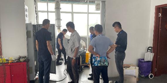 上海恩拓博机械--涡轮鼓风机实验阶段