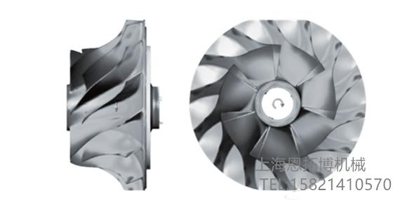 空气悬浮风机叶轮