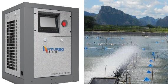 水产养殖涡轮鼓风机