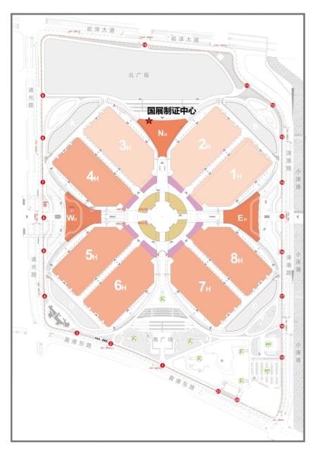 会展中心平面图